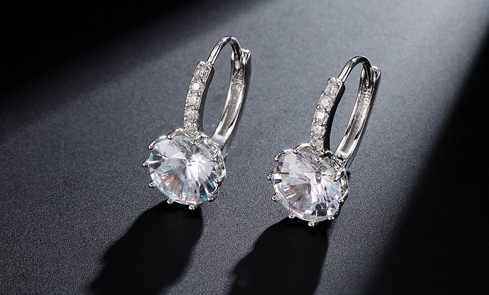 11576-cd2bbdb04d82f8ef751ea36fcceb9439 FEEHOW Cubic Zirconia Lever Back Wedding Earring Jewelry