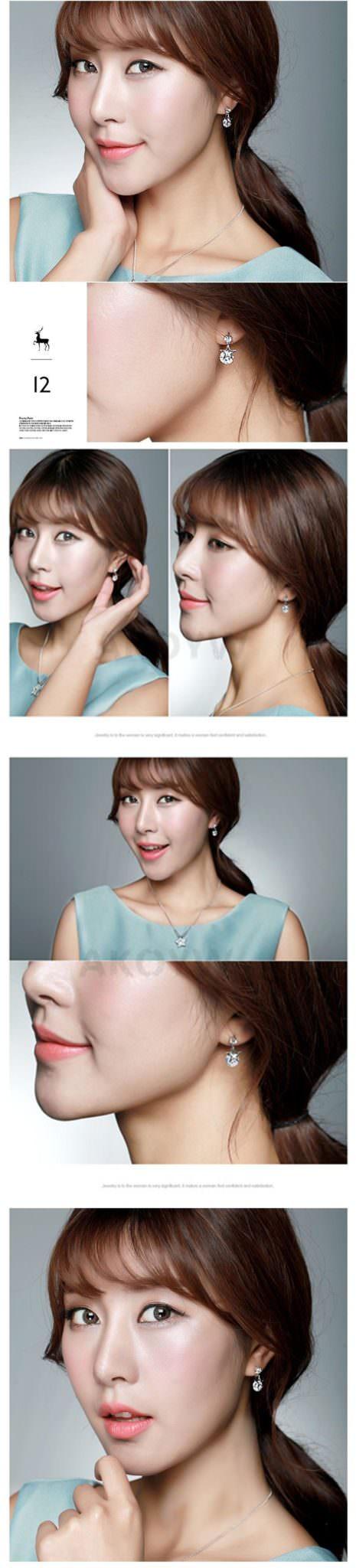 11578-7034838955dda1d172e21dd97f1e03f1 2016 Ms Crystal Pentagram Cubic Zirconia Fashion Jewelry Earrings
