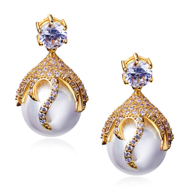 11581-2d20d6f3025da0561c00ac118d4c59a0 DC 1989 Pearl Drop Earring Jewelry In Gold Or Silver