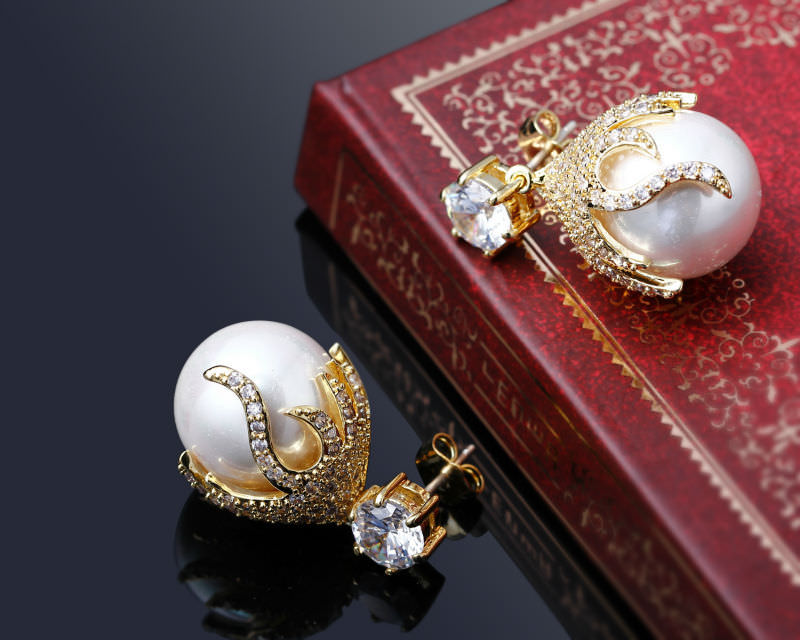 11581-4e51bf327f94c587a16c1a241a50e358 DC 1989 Pearl Drop Earring Jewelry In Gold Or Silver