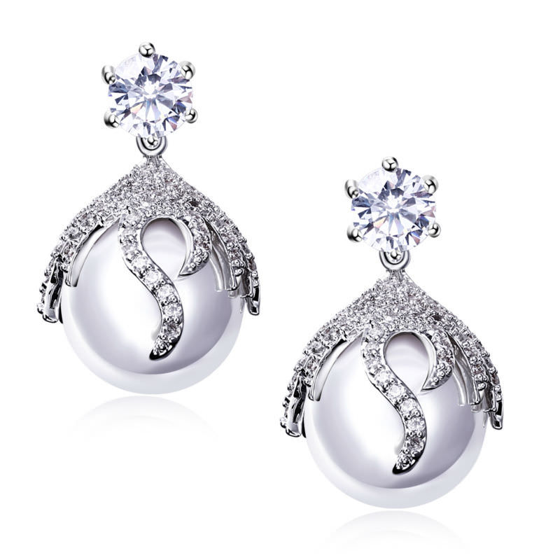 11581-6d9d6bc4c0535cc44d94d4109e03b125 DC 1989 Pearl Drop Earring Jewelry In Gold Or Silver
