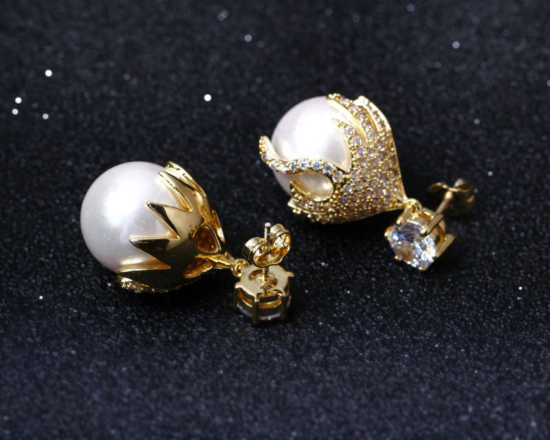 11581-9e025798dffebc96739f48cdb478bbb7 DC 1989 Pearl Drop Earring Jewelry In Gold Or Silver