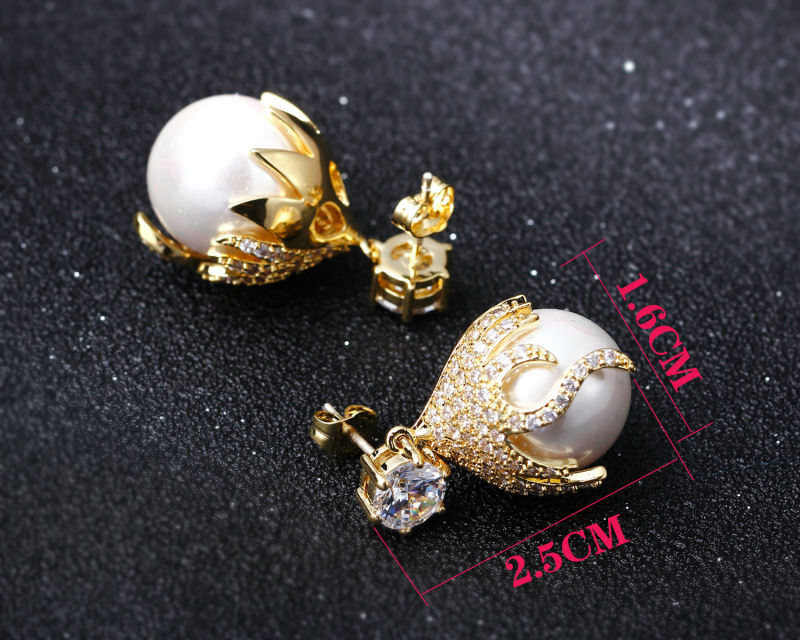 11581-a18d839a94f2326343989a9c95740a25 Pearl Drop Earring Jewelry In Gold Or Silver