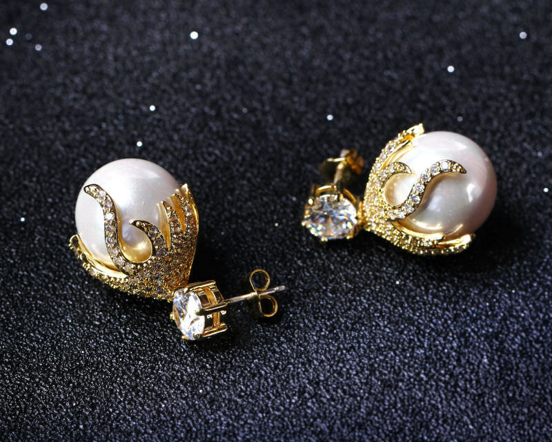 11581-b28a18eb488b587a28f8d06aedc7aa49 Pearl Drop Earring Jewelry In Gold Or Silver
