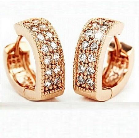 11593-b4c7ddca09a403a5604d2c737cde139b Sophisticated Wedding Fashion Crystal Heart Huggie Earring Jewelry