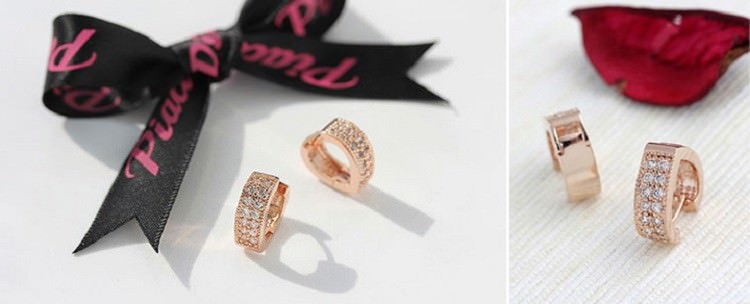 11593-ebe8c6f93e000fc542045d11b50c5883 Sophisticated Wedding Fashion Crystal Heart Huggie Earring Jewelry
