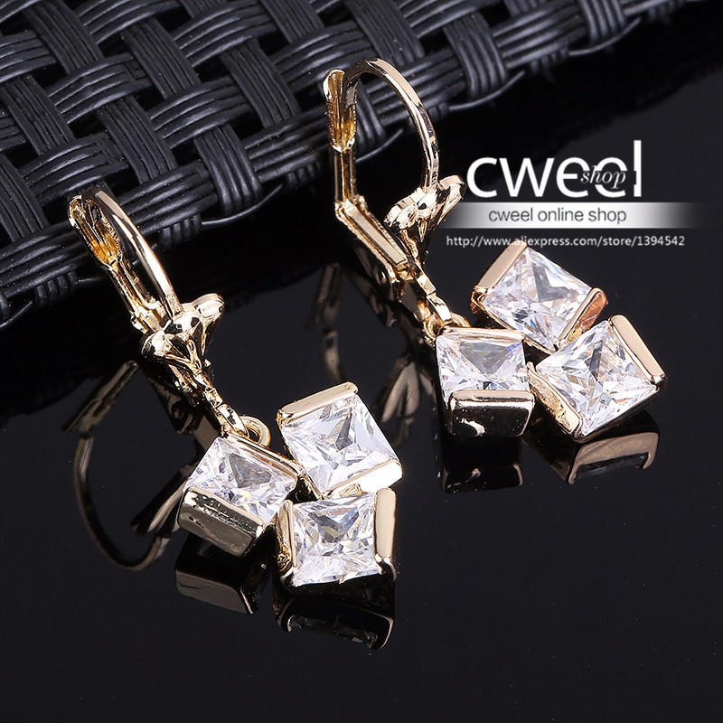 11596-6104d62ea48498edaa39800c38794d62 Crystal Lever Back Dangling Earring Jewelry