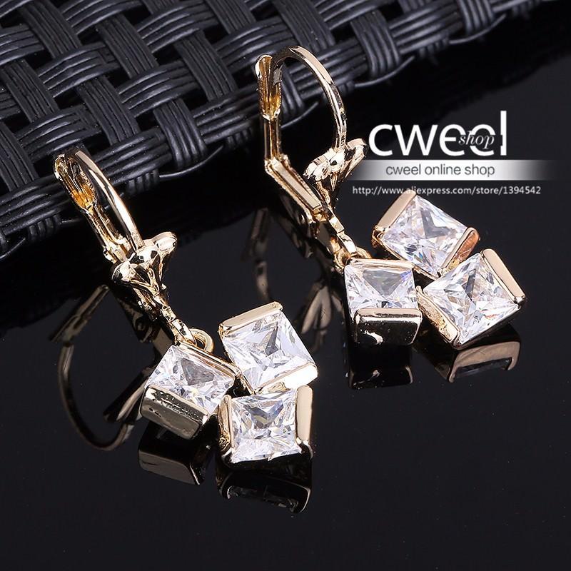 11596-6104d62ea48498edaa39800c38794d62 Crystal Lever Back Dangling Earring Jewelry