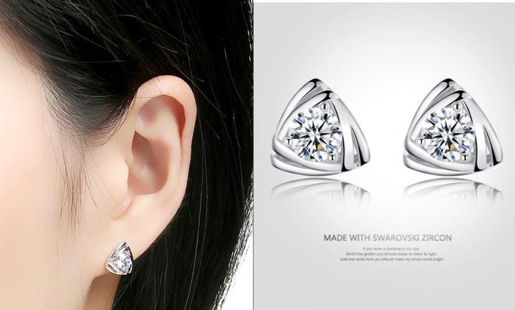 11599-e737ac9275993a46ce88927fcd5e411f Geometric Triangle Stud Earring Jewelry With Crystal Zircon
