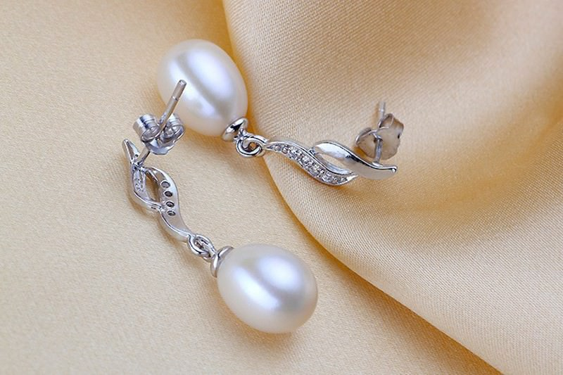 11600-48585d6872f4823ffe953bb6bda1146d Mother's Day Gift Natural Pearl Drop Stud Earring Jewelry