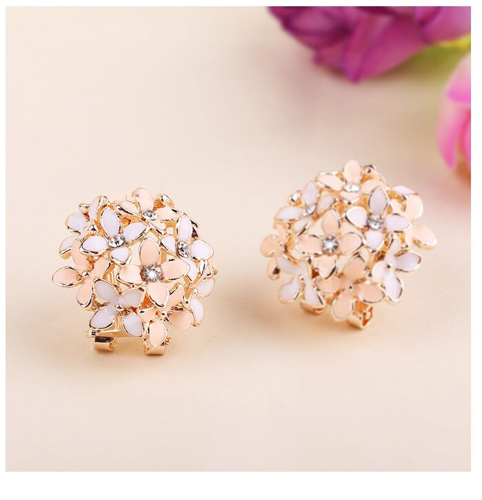 11601-38c1dd64ca514bf6c7e80fb7a3473bae Whimsical Floral Bouquet Lever Back Earring Jewelry