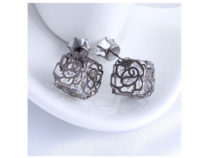 11604-022afdfe856701aba08056d740531c8f Trendy Double Sided Earring Jewelry With Rhinestone Diamonds