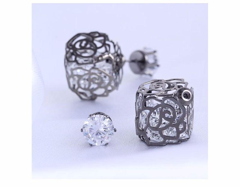 11604-05a286d81b9d5ab858a517f1bd2ddd1b Trendy Double Sided Earring Jewelry With Rhinestone Diamonds