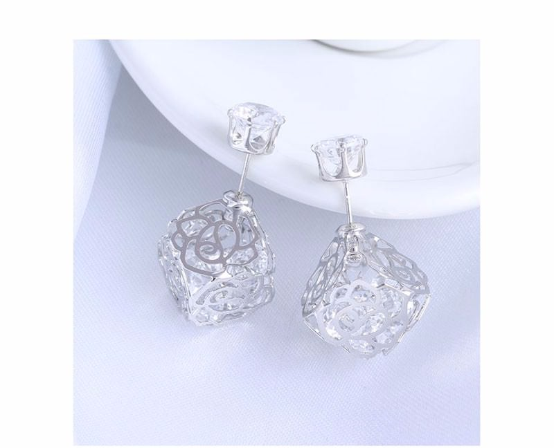 11604-c5035aee5bc058967d5b46c81471cf1b Trendy Double Sided Earring Jewelry With Rhinestone Diamonds