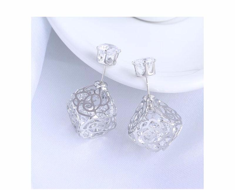 11604-c5035aee5bc058967d5b46c81471cf1b Trendy Double Sided Earring Jewelry With Rhinestone Diamonds