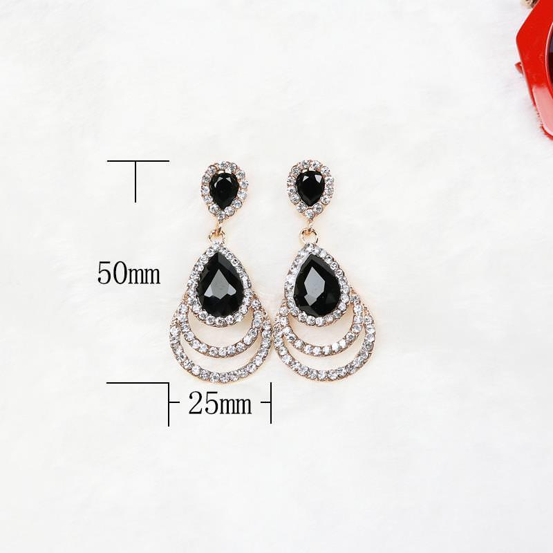 11608-c4b19b0a31b99f8c25a381523180765a Timeless Crystal Drop Earring Jewelry For Women