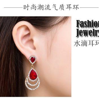 Timeless Crystal Drop Earring Jewelry For Women