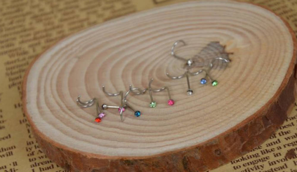 11631-93861327533605c8af33ad9a7b746d10 20pcs/lot Simple Crystal Nose Screw Jewelry In Various Colors