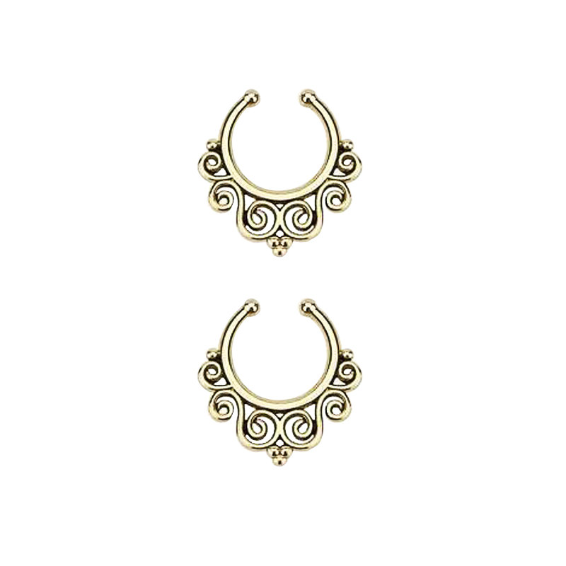 11639-bb5c22144a76a585919c8cc6e08e1a34 Vintage Classic Filigree Designed Faux Septum Ring Jewelry For Women