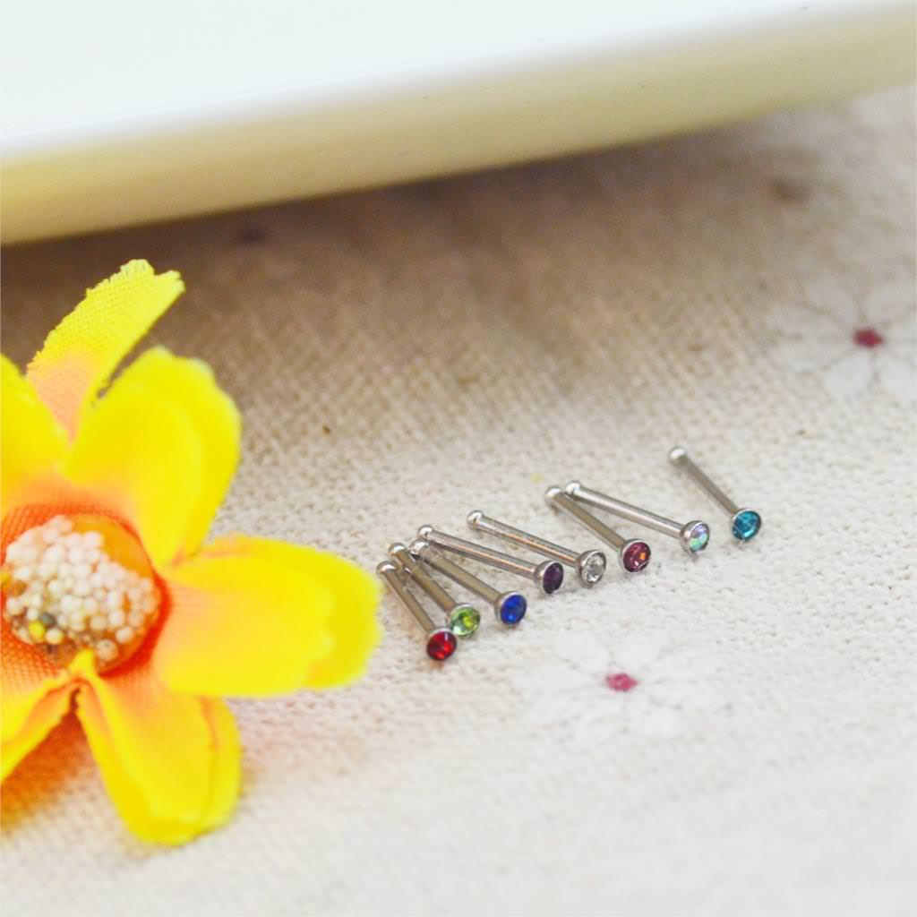 11640-9e48ca8fa9684a5fe7933cdb8e5bcf4e Set Of Rhinestone Crystal Bone Or Stud Type Body Piercing Jewelry