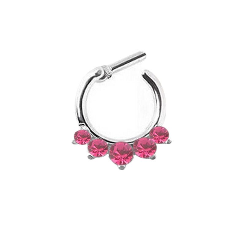 11642-6d888bc9d46d160568f0044862564650 Stunning Rhinestone Crystal Septum Clicker Ring Jewelry