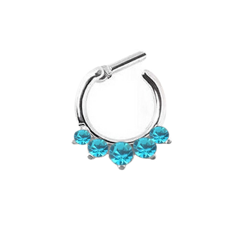 11642-888882ddcb6057d81293e5986d236697 Stunning Rhinestone Crystal Septum Clicker Ring Jewelry