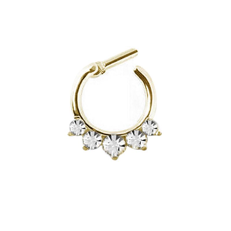 11642-9eebdbcec922cd3aa14f175fc68490b1 Stunning Rhinestone Crystal Septum Clicker Ring Jewelry