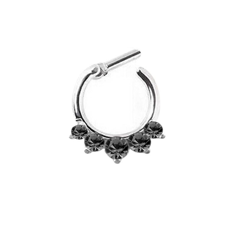 11642-a2bdf5edf9a3b26e45546eca7a56ac29 Stunning Rhinestone Crystal Septum Clicker Ring Jewelry