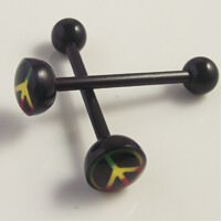 11643-2e010d0271e3ca5254520f831936c9f6 Soft Black Popular Logo Designed Labret Or Body Piercing Jewelry
