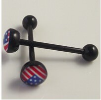 11643-8755234b1541030781b0accefbacbe57 Soft Black Popular Logo Designed Labret Or Body Piercing Jewelry