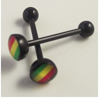 11643-ac45eebc921cdcc912f08fc7af82c028 Soft Black Popular Logo Designed Labret Or Body Piercing Jewelry
