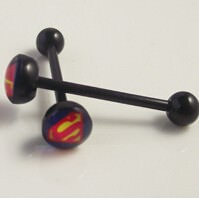 11643-bb31b0fa360771f36eb779fba48122b9 Soft Black Popular Logo Designed Labret Or Body Piercing Jewelry