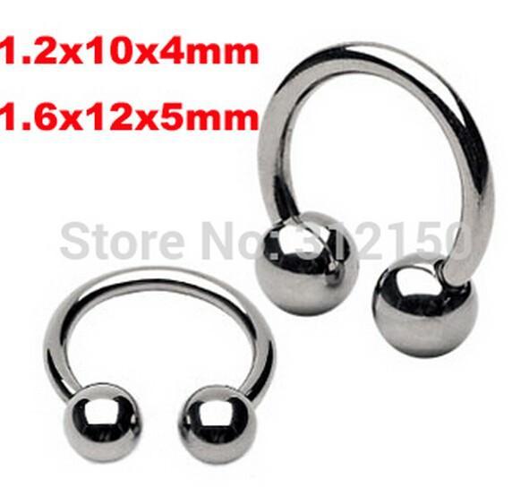 11644-9d10b81765aa0a95c6c2614ff1b89a91 Classic Stainless Steel 4mm Or 5mm Horseshoe Ring Jewelry