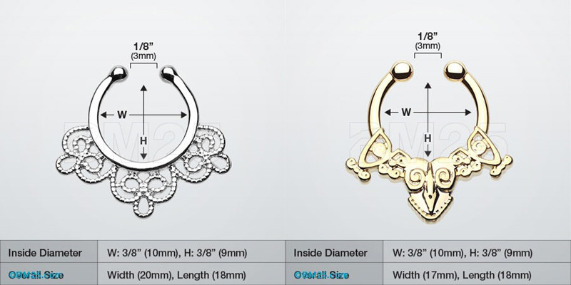 11646-0140fbd2756214558db4010ee56c8469 Hot Sale Variety Of Unique Vintage Fake Septum Jewelry For Women