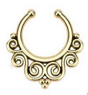 11646-2c32eca3ade01a043c432a664b0830b4 Hot Sale Variety Of Unique Vintage Fake Septum Jewelry For Women