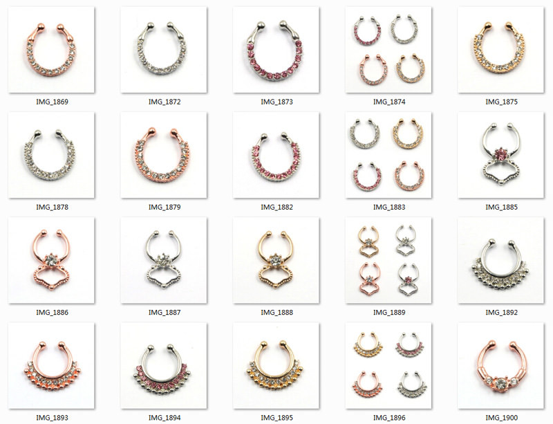 11646-41cb8cc93988f0956523f644d67eff28 Hot Sale Variety Of Unique Vintage Fake Septum Jewelry For Women