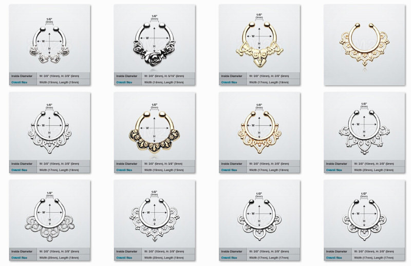 11646-5450aab72dc2a2ec9747125d582038e4 Hot Sale Variety Of Unique Vintage Fake Septum Jewelry For Women