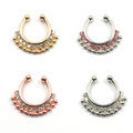 Hot Sale Variety Of Unique Vintage Fake Septum Jewelry For Women
