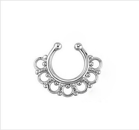 11646-991b13131887e2cc0b7cf83fa6d19797 Hot Sale Variety Of Unique Vintage Fake Septum Jewelry For Women