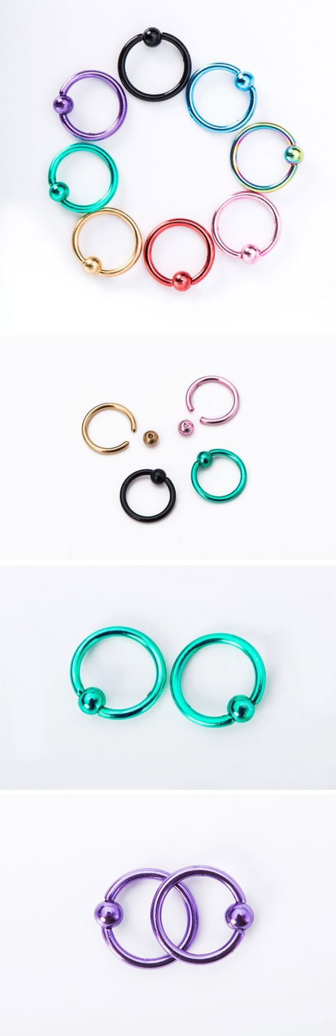 11648-a353be423831290ebbb6014b65adc563 Trendy Stainless Steel Captive Bead Ring Jewelry In Various Colors