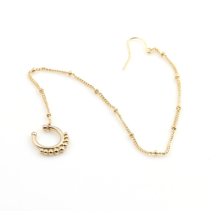 11650-53ef14f3af55ca5eff6998a0a83480cb Exotic Gemmed Nose To Ear Chain With Fake Nose Ring Jewelry