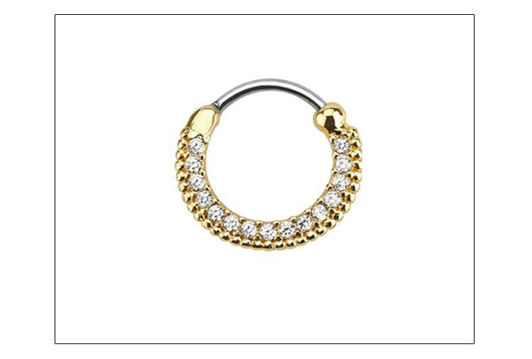 11657-f8a3fe9bbbee30a4eb8d0d781743bc0d Elegant Crystal Clicker Nose Ring Jewelry For Septum