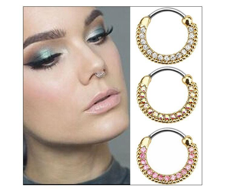 11657-f9b1af040b8b855ab621e9682800cc26 Elegant Crystal Clicker Nose Ring Jewelry For Septum