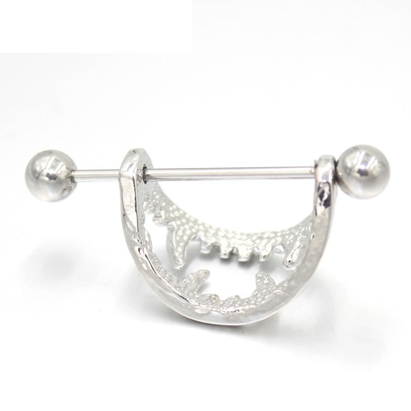 11671-084852e7011aa1eb988c5c07bfcdba9e 2pc Sexy Stainless Steel Vampire Fangs Nipple Shied Body Jewelry