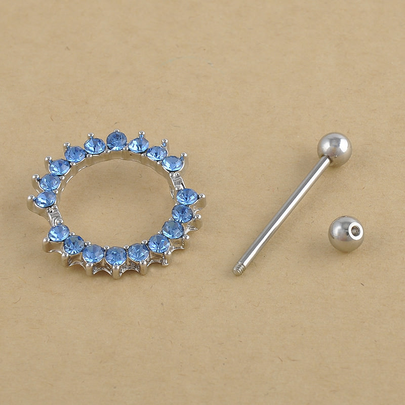 11682-9401241f25e1273fe4efe3f6d5b3fe57 Charming Crystal Nipple Shield Body Jewelry For Nipples Or Navel