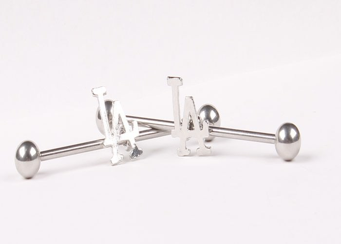 11688-d92982b9feeab780c4fcbb0007d2277d 1 Pc Surgical Steel LA/ Anchor/ Owl / Rose Barbell Stud Body Jewelry