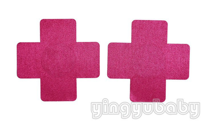 11701-3fd3bdc928016a2f8ea243914eb6138d Pair Of Large Cross Adhesive Nipple Sticker Body Jewelry