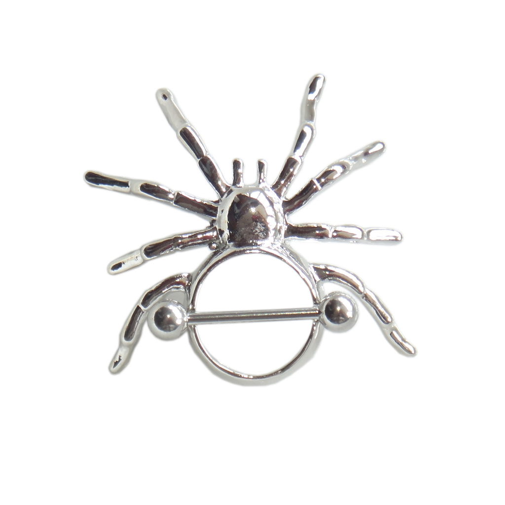 11702-a80c0b0562d18db017deda12d050e01e 1 Pair Stainless Steel Spider Nipple Shield Body Piercing Jewelry
