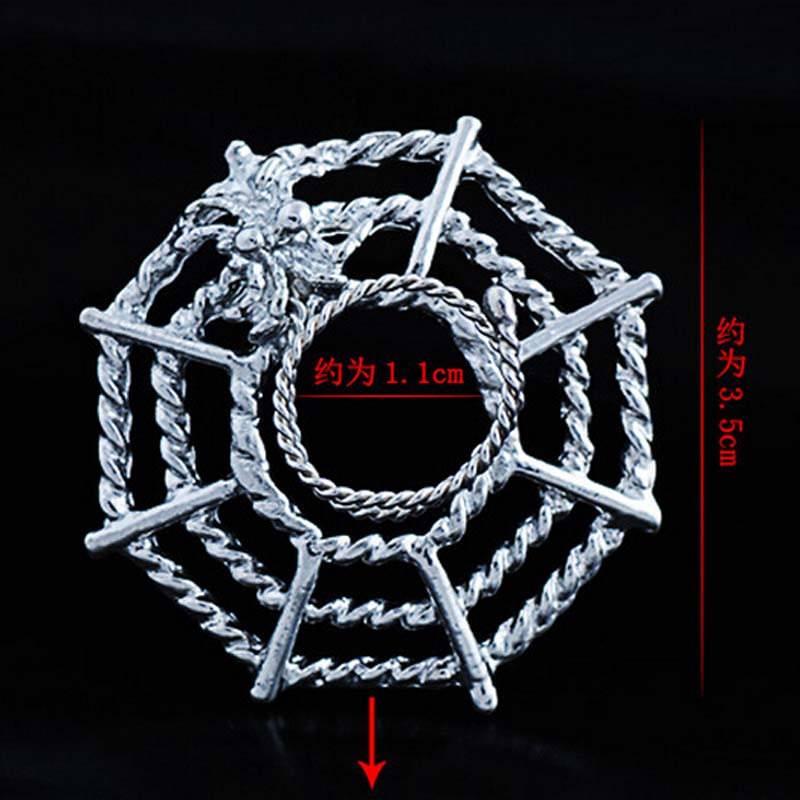 11706-92daa974684e1ca51bcb204d35ac3758 Surgical Steel Spider On Web Fake Nipple Body Piercing Jewelry