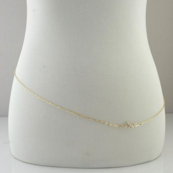 Sexy Gold/Silver Belly Chain With Cute Accent Pendant